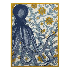 Vineyard Octopus Tea Towel
