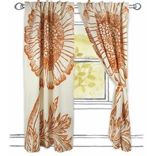 Botanical Window Curtain