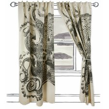 Octopus Window Curtain