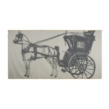 Equestrian Carriage Voile Scarf