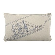 Ship-in-Bottle 12x20 Pillow