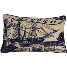 Seafarer Shipped Pillow