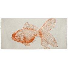 Shawls / Pareos Goldfish Scarf in Mandarin