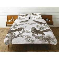 <strong>Thomas Paul</strong> Ornithology Cotton Duvet Cover
