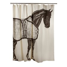 <strong>Thomas Paul</strong> Thoroughbred Shower Curtain