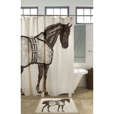 Thoroughbred Shower Curtain