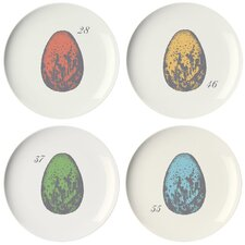 Ornithology Coaster Dish (Set of 4)
