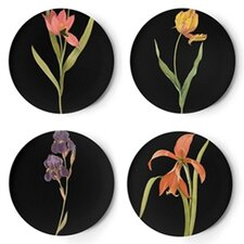 "Florilegium 9"" Dessert Plates (Set of 4)"