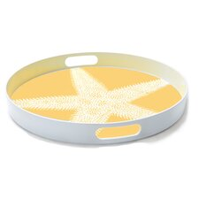 Sealife Starfish Round Serving Tray