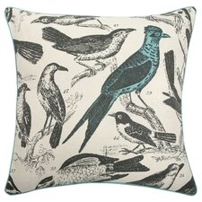 "22"" Ornithology Pillow"