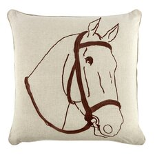 "18"" Thoroughbred Pillow"