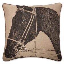 "<strong>Thomas Paul</strong> 22"" Horse Pillow"