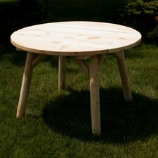 "<strong>Moon Valley Rustic</strong> 46"" Round Table"