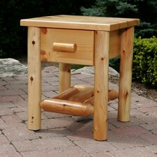 <strong>Moon Valley Rustic</strong> 1 Drawer Nightstand