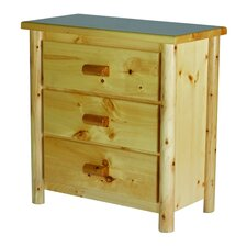 <strong>Moon Valley Rustic</strong> Nicholas 3 Drawer Chest