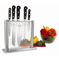 <strong>Mercer Cutlery</strong> Renaissance 6 Piece Forged Knife Block Set