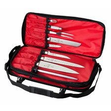 <strong>Mercer Cutlery</strong> Innovations for Chefs Double Zip Knife Case