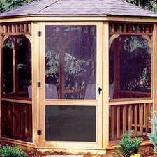 San Marino Screen Kit for 12' W Gazebo