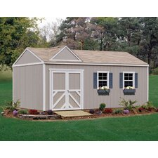 Premier Series 12ft. W x 20ft. D Columbia Wood Storage Shed
