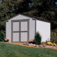 Marco Series 10' W x 8' D Cumberland Wood Storage Shed