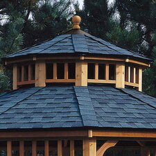 San Marino Two-Tier Roof for 10' W Gazebo