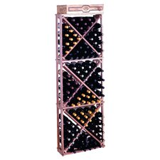 <strong>Wine Cellar Innovations</strong> Premium Redwood 132 Bottle Wine Rack