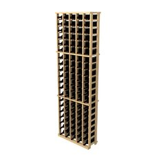 Rustic Pine 105 Bottle Wine Rack