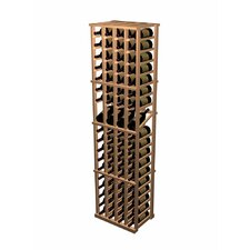 Designer Series 76 Bottle 4 Column Individual with Display Wine Rack