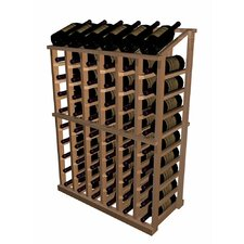 Designer Series 66 Bottle Half Height with Display Wine Rack