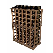 Designer Series 60 Bottle Half Height Wine Rack