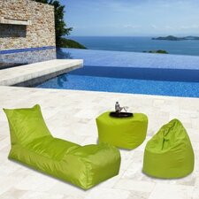 Summer Days 3 Piece Bean Bag Patio Set
