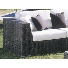 Soho Patio Corner Lounge Chair with Cushion