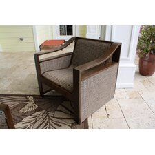 <strong>Hospitality Rattan</strong> Venetian Sling Patio Lounge Chair