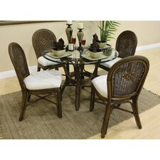 <strong>Hospitality Rattan</strong> Key West 5 Piece Dining Set