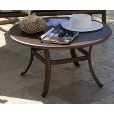 <strong>Hospitality Rattan</strong> Grenada Patio Round Dining Table
