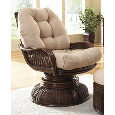 <strong>Hospitality Rattan</strong> Legacy Swivel Rocking Chair with Cushion
