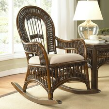 <strong>Hospitality Rattan</strong> St. Lucia Rocking Chair