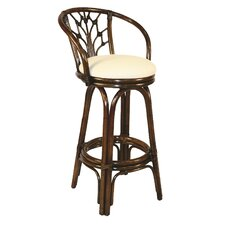 "<strong>Hospitality Rattan</strong> Valencia 30"" Barstool with Cushion"