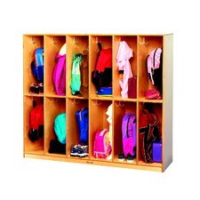 Childcraft 12-Section Coat Locker
