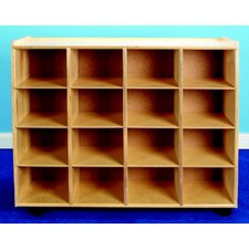 Mobile Double Sided Book Display/Cubby