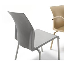 Iron Office Stacking Chair