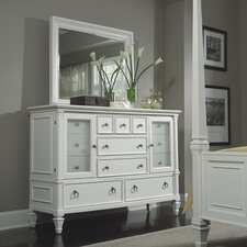 Ashby Collection 12 Drawer Combo Dresser