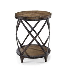 Pinebrook Drum End Table