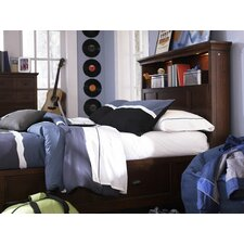 Riley Bookcase Bedroom Collection with Partial Storage