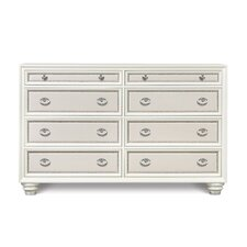 Diamond 8 Drawer Dresser