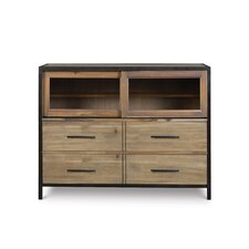 Bailey 4 Drawer Media Chest