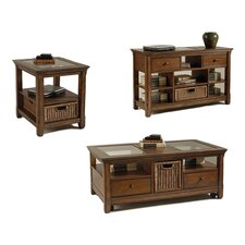 <strong>Magnussen Furniture</strong> Tanner Coffee Table Set