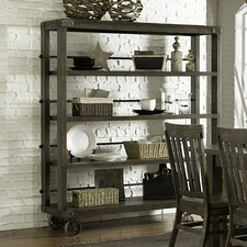 <strong>Magnussen Furniture</strong> Karlin Kitchen Cart with Wood Top