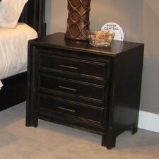 Elkin Valley 3 Drawer Nightstand