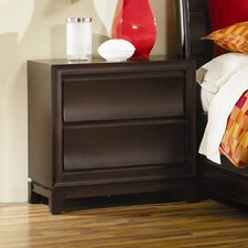 Meridian 2 Drawer Nightstand